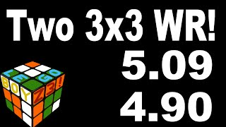 4.90 - TWO 3x3 WORLD RECORDS IN ONE DAY!?!?