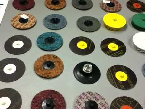 3M 777F Regalite Polycut Roloc Discs Box of 50