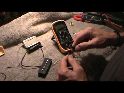 How To Test Your Guitar Pickups With A Multimeter By Jonesyblues