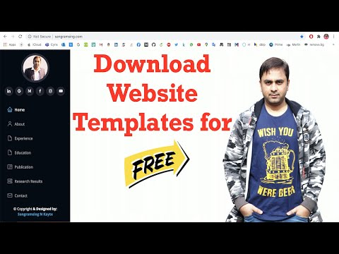 How To  Download Any Website Templates For Free