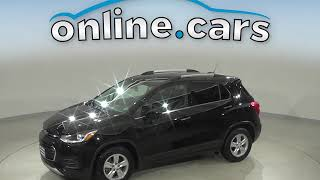 A14839YT Used 2017 Chevrolet Trax LT FWD 4D Sport Utility Black Test Drive, Review, For Sale