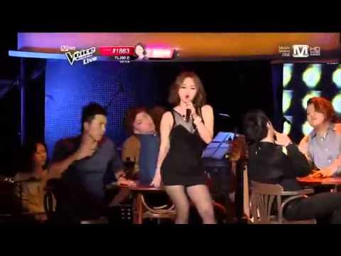 130524 Shin Yumi - 1,2,3,4 @ Mnet The Voice Korea S2