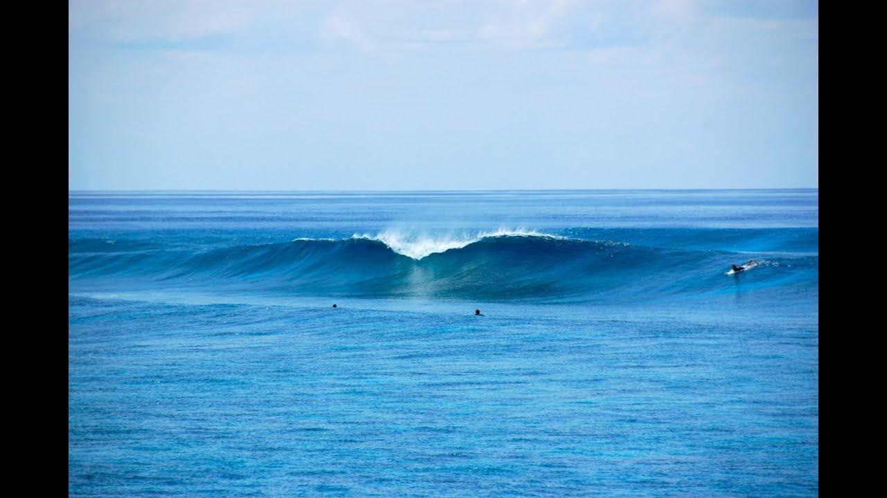 Christmas Island Surf Map