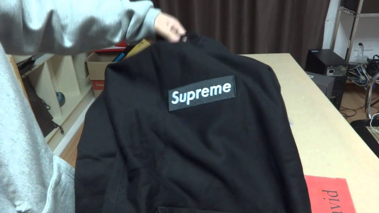 supreme box logo hoodie pullover from david youtube