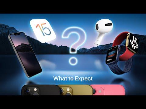 Dernières fuites de l'événement Apple iPhone 13!