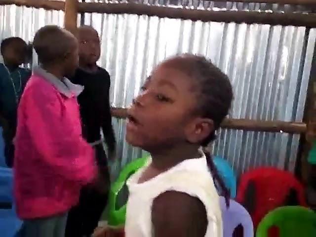 Children Worshipping Jesus Kibera Slum GMFC