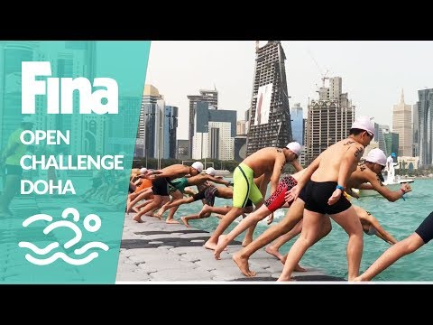 360 swimmers at the Open Challenge Mass Event Doha 2018