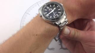 Omega Seamaster Planet Ocean 600M Skyfall Limited Edition Luxury Watch Review