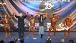 Чемпионат Украины 2011   Бодибилдинг до 90 кг   Награждение