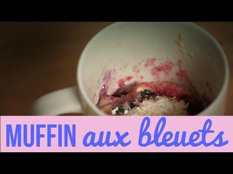 muffin-aux-bleuets-dans-une-tasse-(recette)!-/-blueberry-muffin-in-a-cup-recipe!