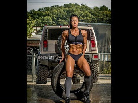 Naked asian female bodybuilders