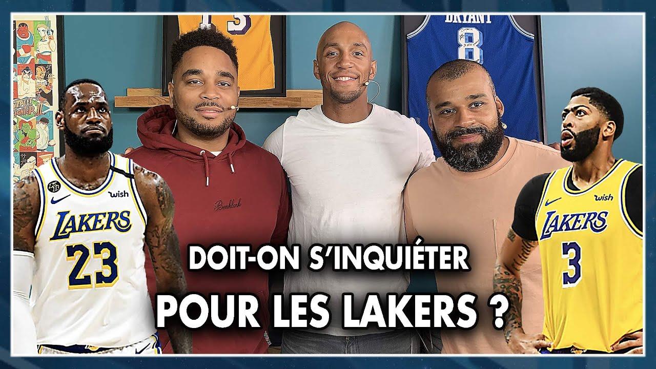 DOIT-ON S'INQUIÉTER POUR LES LAKERS ? NBA First Day Show #100