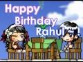 Happy Birthday Rahul!