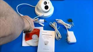FI9853EP Indoor Dome 720P Megapixel Power Over Ethernet POE P2P IP Camera Review