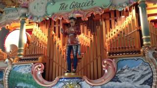 "112 key Johnny Verbeeck concert organ ""The Glacier"" plays"