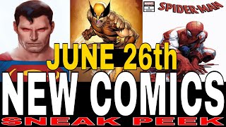 NEW COMIC BOOKS RELEASING JUNE 26th 2019 MARVEL AND DC COMICS COMING OUT THIS WEEK - WEEKLY PICKS