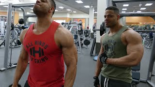 Chest Shoulders and Triceps Workout  @hodgetwins