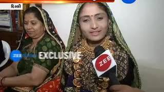 Gujarati Folk Artist Geeta Rabari Meets PM Modi