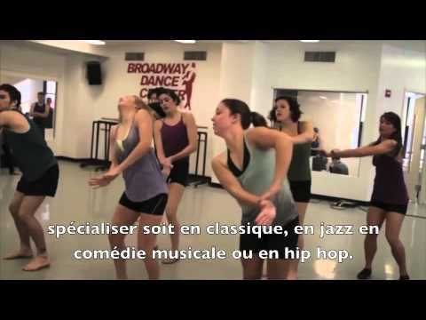 CONCOURS Broadway Dance Center - Programme ISVP
