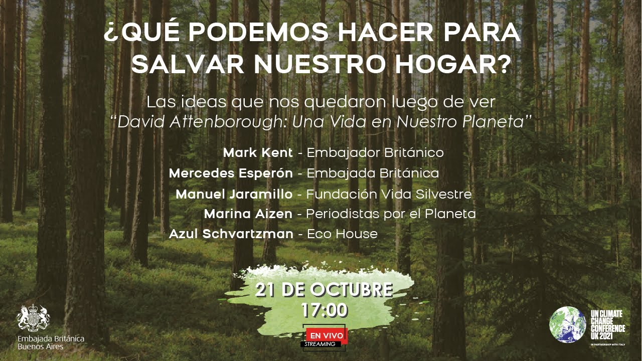 Mesa Redonda Virtual En Vivo Sobre David Attenborough Una Vida En Nuestro Planeta Youtube
