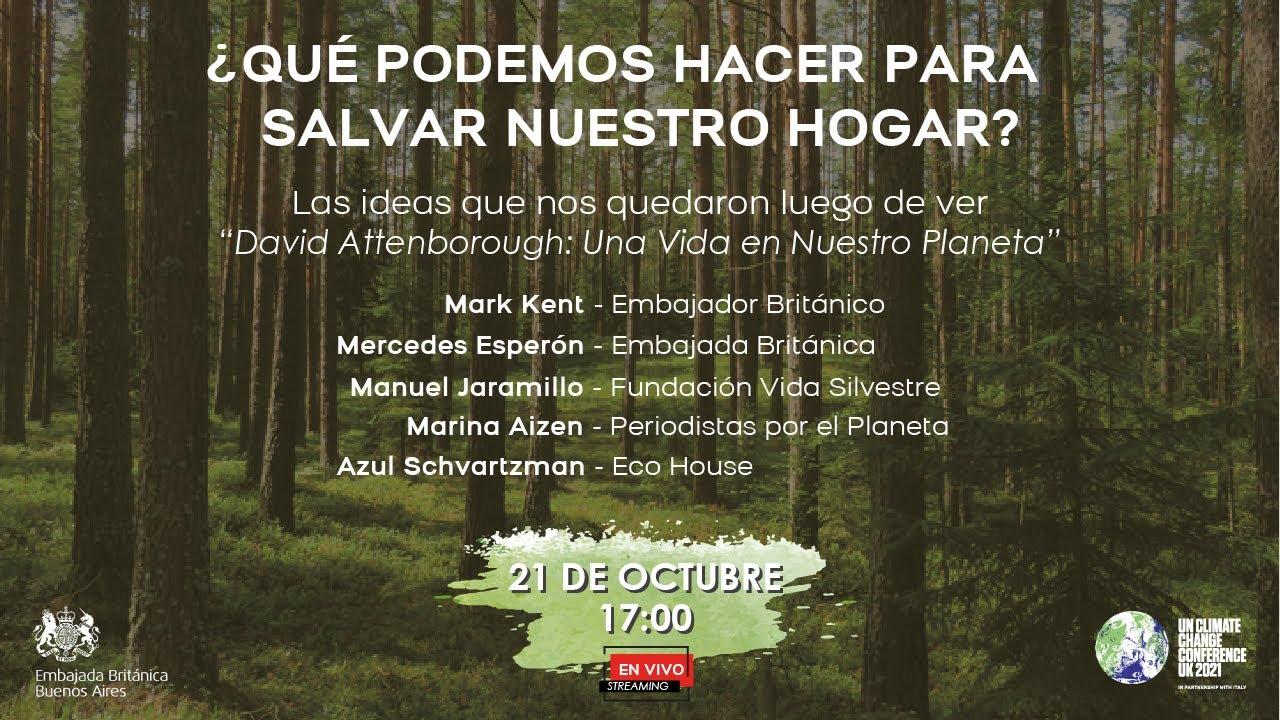 Mesa Redonda Virtual En Vivo Sobre David Attenborough Una Vida En Nuestro Planeta Youtube