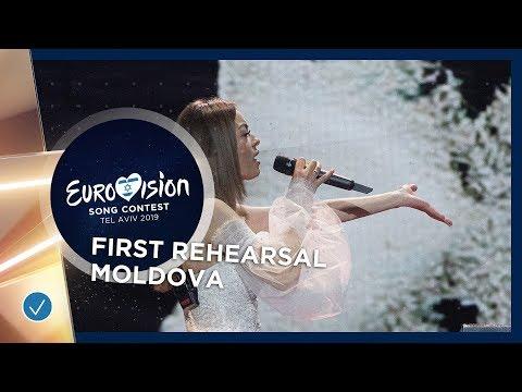 Moldova 🇲🇩 - Anna Odobescu - Stay - First Rehearsal - Eurovision 2019