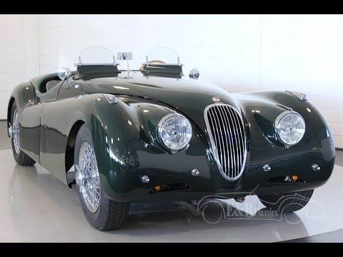 Jaguar XK120 Roadster 1951 Le Mans - VIDEO - www.ERclassics.com