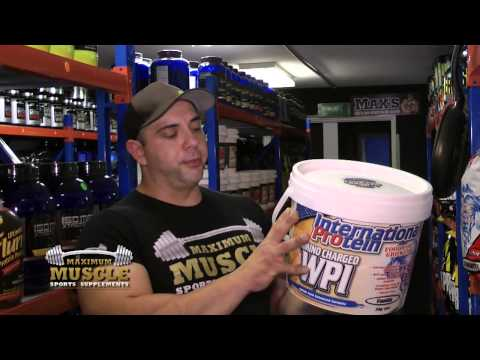 International Protein Amino Charged WPI International Protein At Maximum Muscle, Melbourne