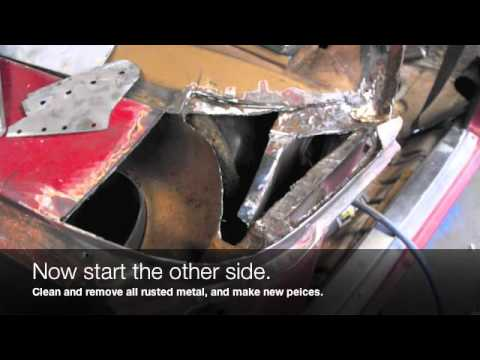 Holden HQ HJ HX HZ WB Plenum / Cowl replacement rust repair
