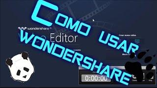 Como Usar Wondershare Video Editor Muy Bien Explicado