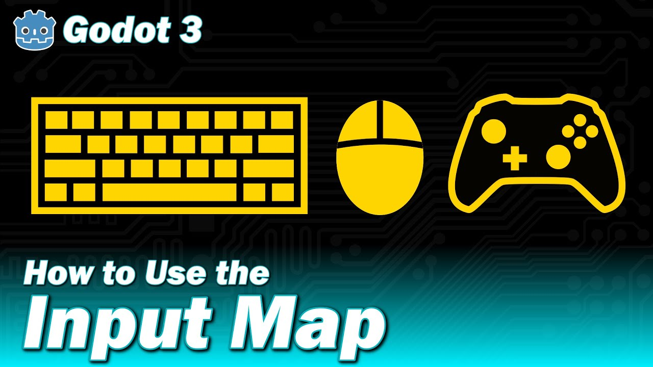 Godot 3 - How to Use the Input Map