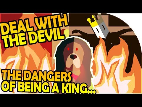DEAL with THE DEVIL?! - KING of our OWN KINGDOM, but it's Dangerous... - Reigns Gameplay Part 1