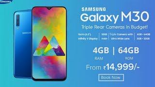 Samsung Galaxy M30 OFFICIAL - Desig, Price, Features & Launch Date India??