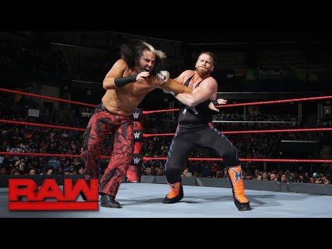 """Woken"" Matt Hardy makes Raw in-ring debut: Raw, Jan. 8, 2018"