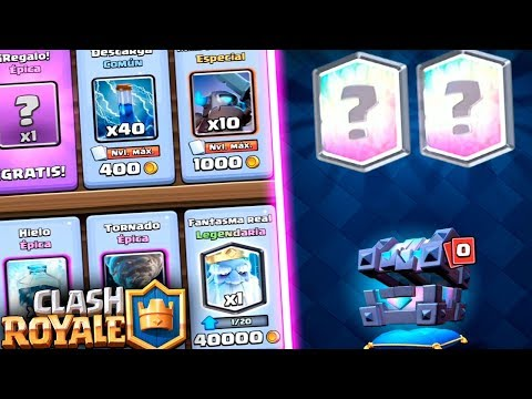 Download Youtube: FANTASMA REAL en la TIENDA & COFRE DEL REY LEGENDARIO!! | Clash Royale | Rubinho vlc