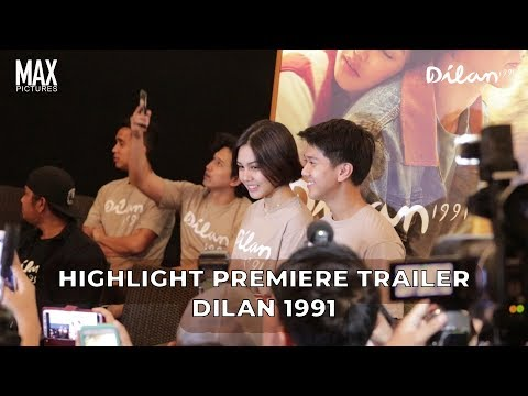 Keseruan Launching Trailer Dilan 1991 Bareng Iqbaal & Vanesha Mp3