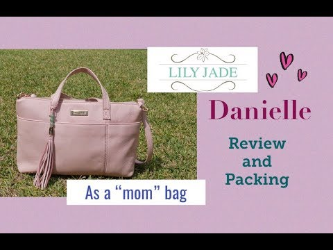 """Lily Jade Danielle in Blush - Review and Packing as a """"mom"""" bag"""