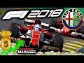 F1 2018 Alfa Romeo Manager Career: COMPLETE NEW TEAM - Part 7
