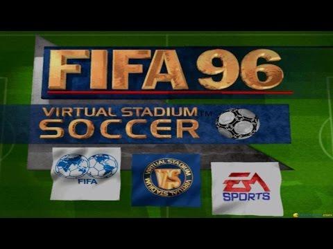 FIFA 96 gameplay (PC Game, 1995)