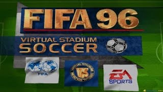 FIFA 96 gameplay (PC Game, 1995)