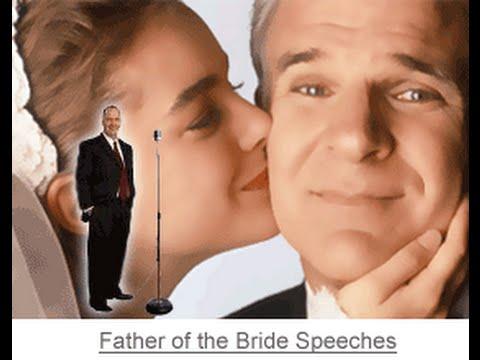 Father Of The Bride Speech Advice