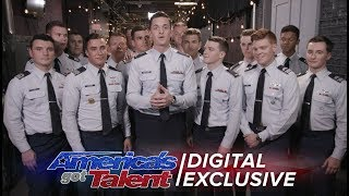 Elimination Interview: In The Stairwell Thanks Their Supporters - America's Got Talent 2017