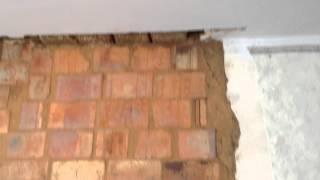 видео как правильно положить плитку на грубу