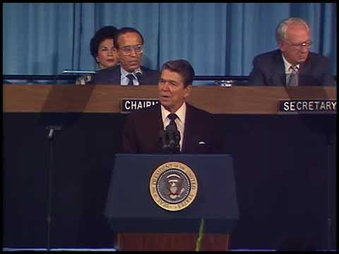 President Reagan's Remarks to the IMF and World Bank Group on September 29, 1987