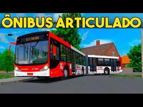Public Transport Simulator Ônibus Articulado