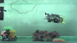 LEGO Underwater Vehicle Test 1