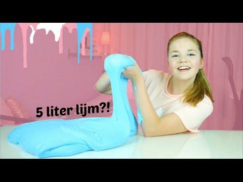 XXL FLUFFY SLIJM MAKEN! | NinaForBeauty