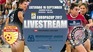 Return MJ Dalfsen vs Galytchanka (URK) 1e ronde EHF cup.