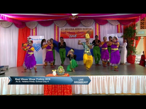 Baal Vikaas Vihaar Prelims 2018 At St. Helena Hindu School Day 4 2