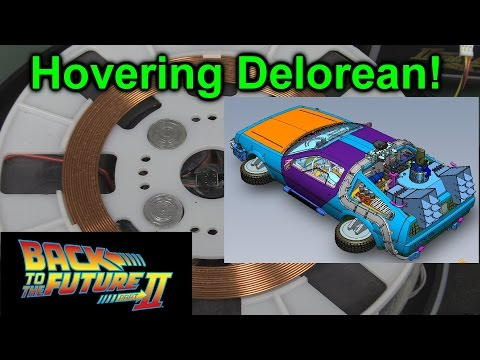 EEVblog #924 - Hovering Delorean!
